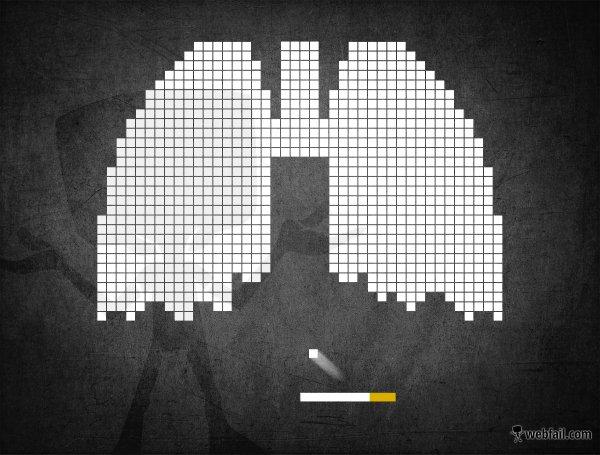 raucher sollten dieses bild auf sich wirken lassen fact bild webfail fail bilder und fail. Black Bedroom Furniture Sets. Home Design Ideas