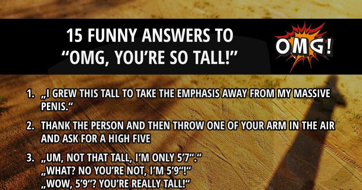 Re so tall you Yo Mama