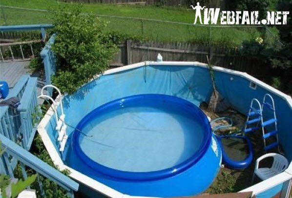 how to keep stock tank pool clean