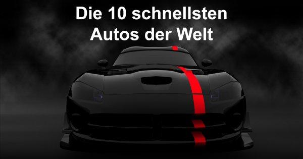 Die 10 schnellsten autos der welt webfail fail bilder for Die schnellsten autos