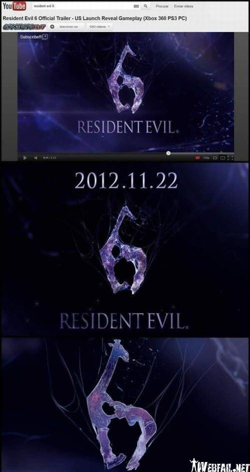 Resident Evil Movie Logo Fail Picture Webfail Fail Pictures And Fail Videos