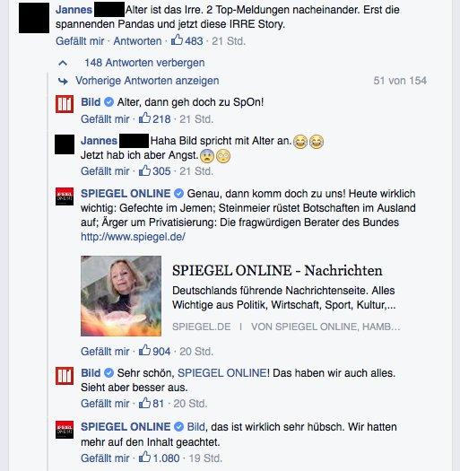 Bild zeitung vs spiegel online ein for Zeitung spiegel