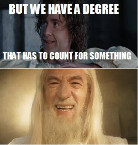 post2 but we have a degree meme picture webfail fail pictures and