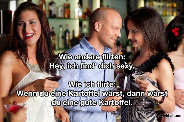 Flirten will gelernt sein