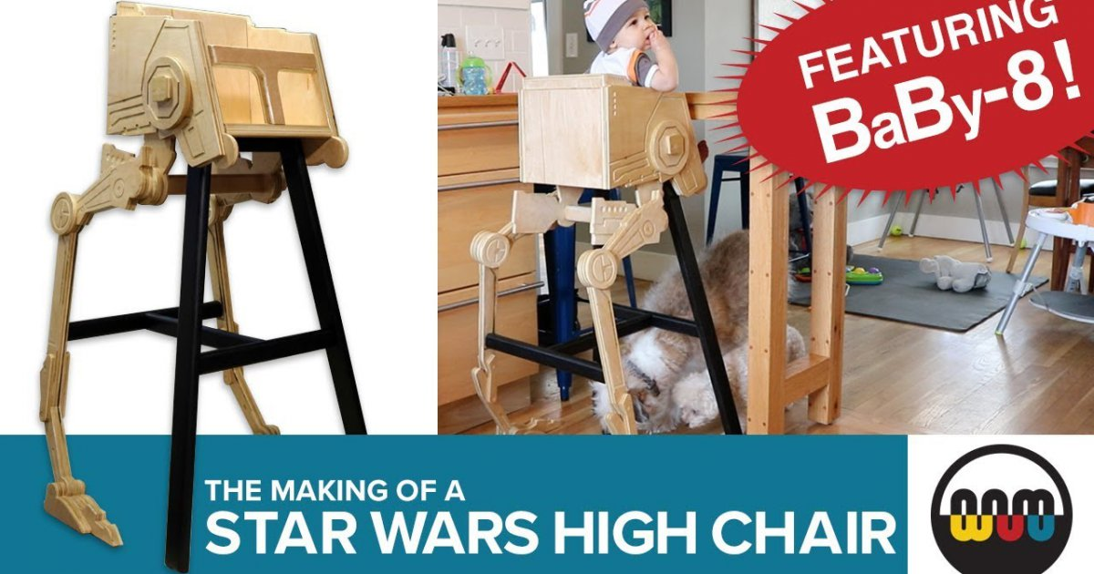 star wars hochstuhl f r kinder webfail fail bilder und fail videos. Black Bedroom Furniture Sets. Home Design Ideas