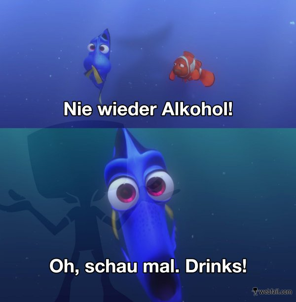 jedes wochenende alkohol