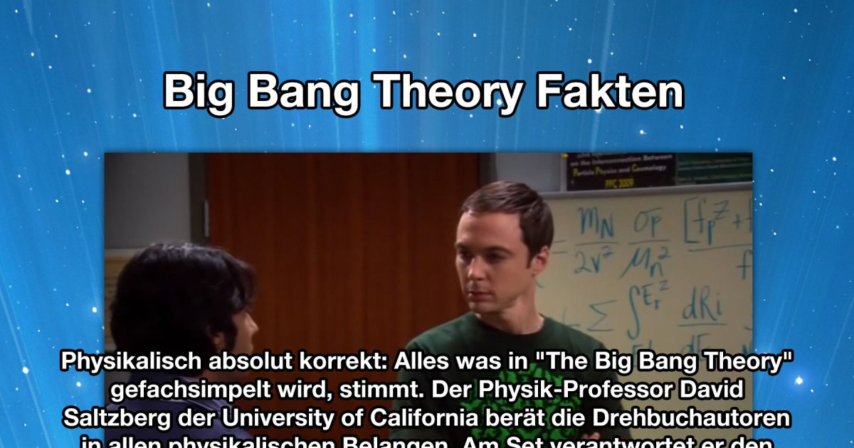 Kücheninsel Big Bang Theory ~ dinge, die duüber the big bang theory noch nicht wusstest fact bild webfail fail bilder