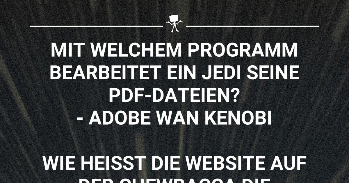 Star Wars Witze | Webfail - Fail Bilder und Fail Videos