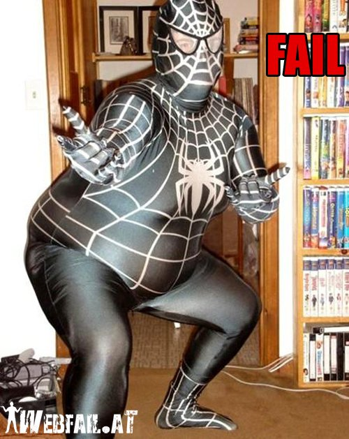 Share this post ... & Spiderman Fail - Fail Picture | Webfail - Fail Pictures and Fail Videos