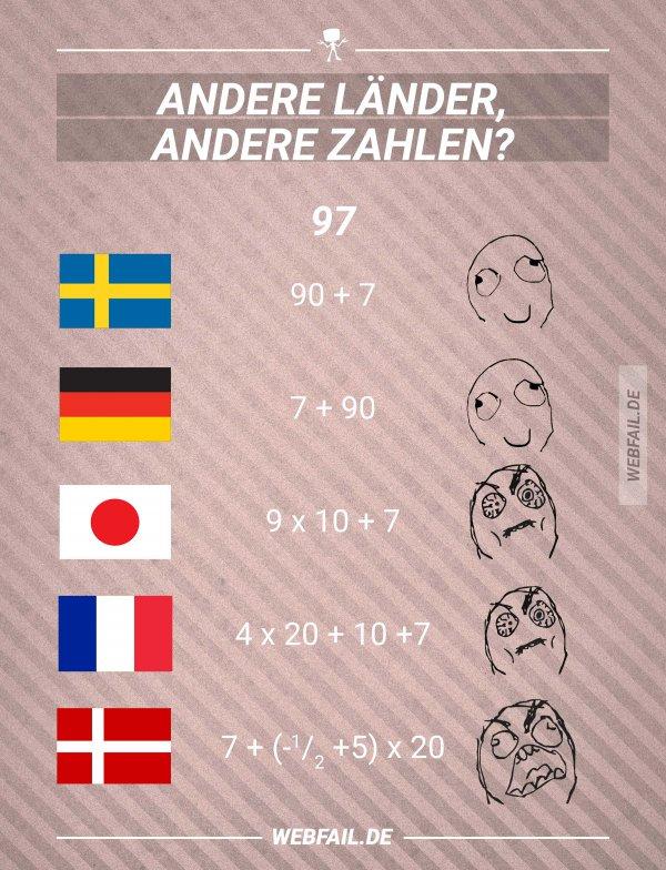 Andere Länder Andere Zahlen Webfail Fail Bilder Und Fail Videos
