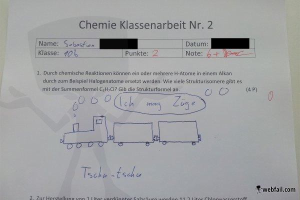 Wie machst du Chemie?