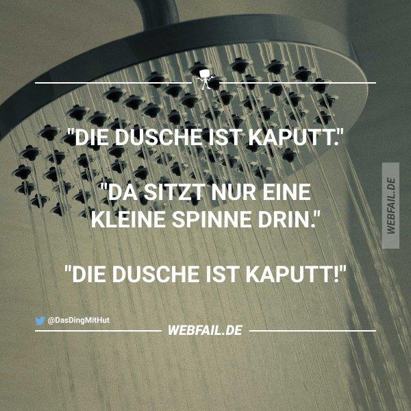 Die Dusche ist kaputt Webfail - Fail Bilder und Fail Videos
