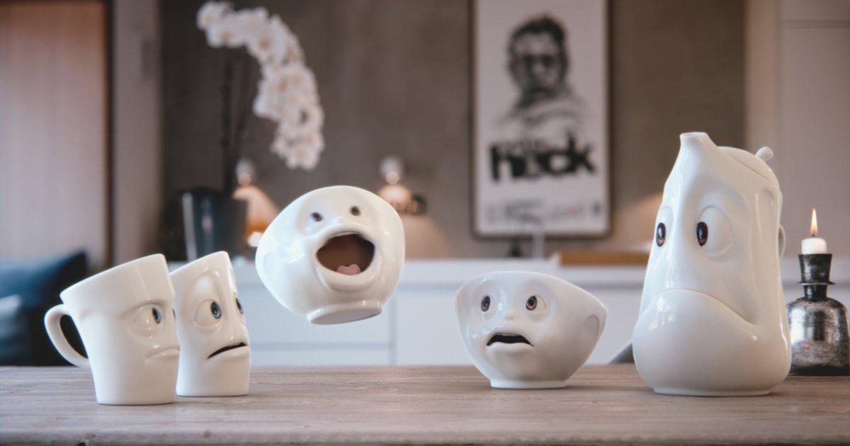 der winter kommt und selbst die tassen werden schon krank. Black Bedroom Furniture Sets. Home Design Ideas