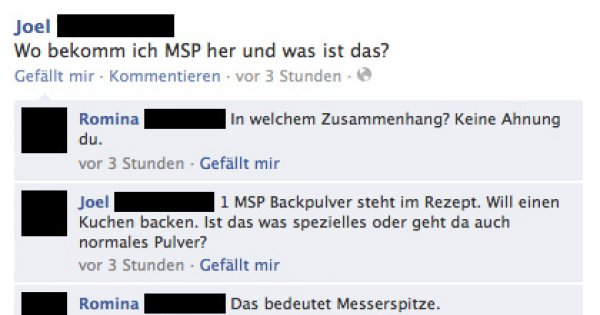 Was heißt msp backpulver