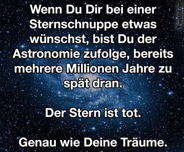 Sternschnuppe - Fun Bild | Webfail - Fail Bilder und Fail