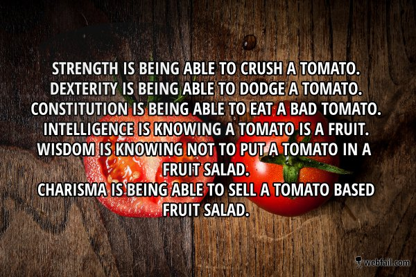 Stats explained with tomatoes win picture webfail fail
