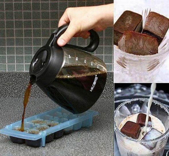 Kaffee einfrieren
