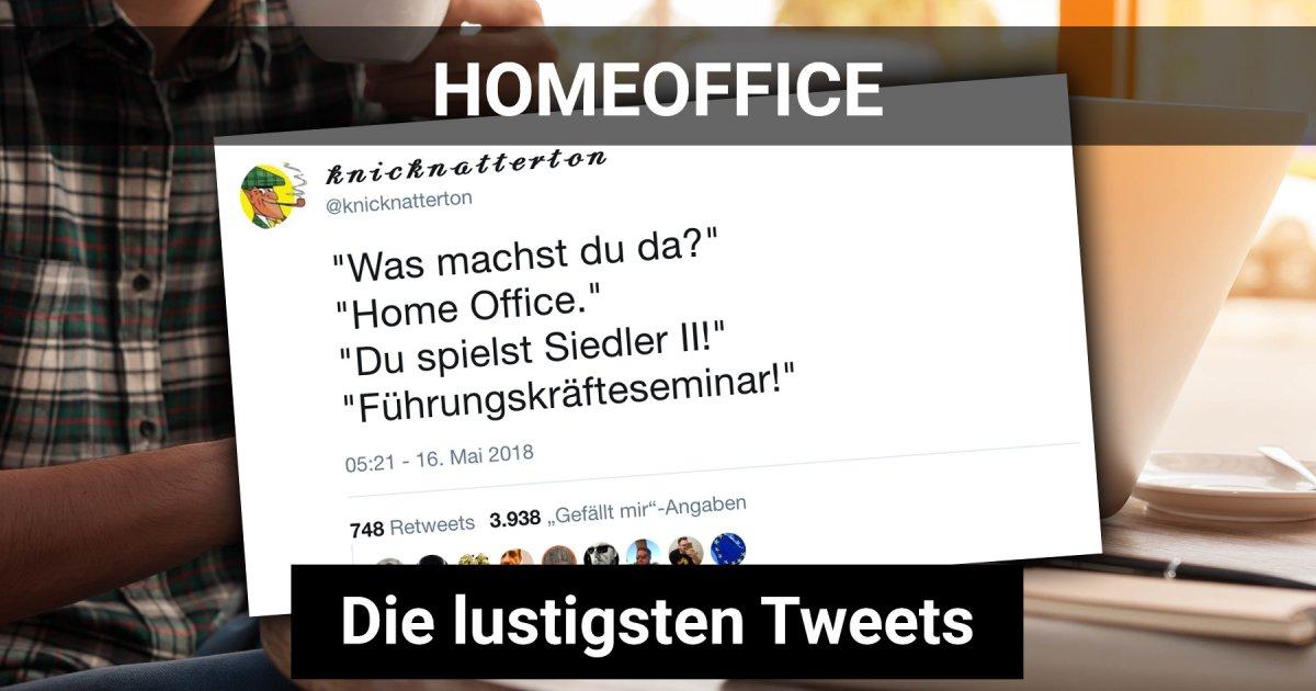 Homeoffice: Die lustigsten Sprüche aus dem heimischen ...