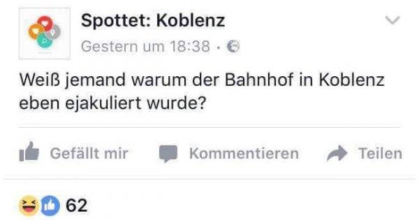 flirten gute frage Münster