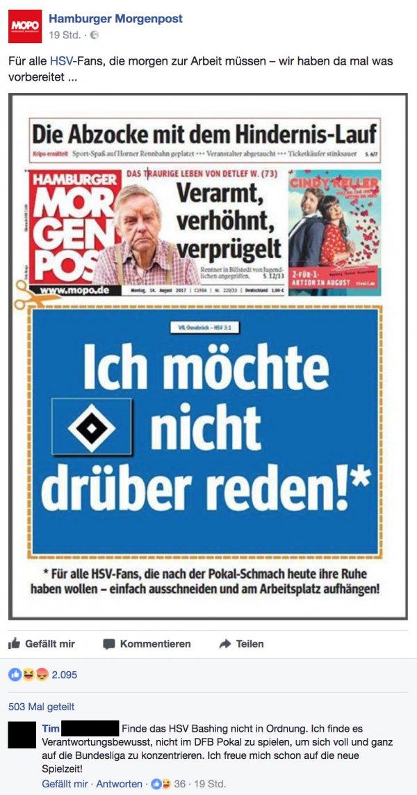 Hamburger Morgenpost Hsv